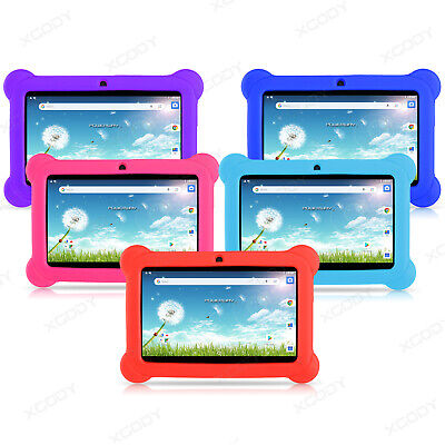 "XGODY 7"" 8GB Android 8.1 HD Quad Core IPS Kids Tablet PC Bundle Case No.09 No.73"