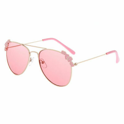 14a51fda39 Claire s Club Kids Rose Gold Butterfly Aviator Sunglasses - PinkClaire s  Club R