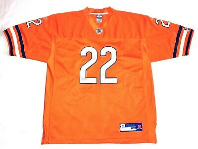Matt Forte Chicago Bears  22 Orange Sewn Reebok NFL Football Jersey Mens 52 9cff9853d