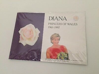 Diana Princess of wales Postage stamps never opened