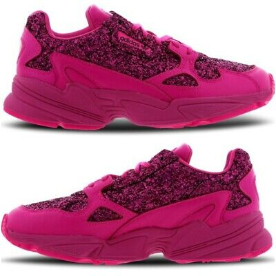 best website dde8b 493ee NEW ADIDAS FALCON Bae x Kylie Jenner Womens Trainers Fuchsia Pink Size 5-8  Shoes