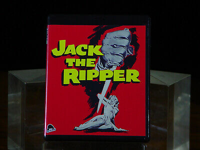 Jack the Ripper (Blu-ray Disc, 2019) Severin - 1959 Horror - UK & USA Versions