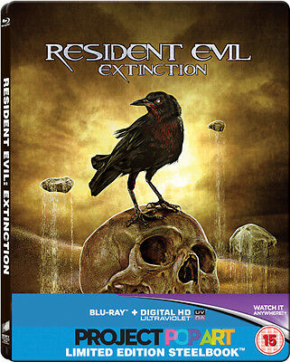 Resident Evil: Extinction - Limited Edition Steelbook (Blu-ray) *BRAND NEW*