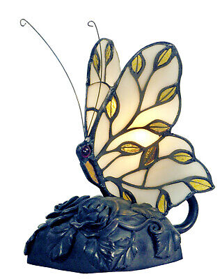 NEW Helios Tiffany Butterfly Table Lamp - G & G Brothers,Lamps