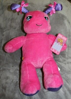 b38a8b015e3 BUILD A BEAR PINK BUG Plush 16