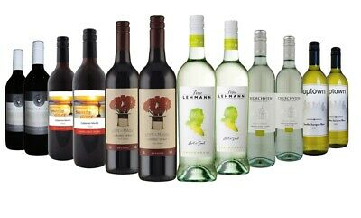 $69Delivered Premium AU Red Wine & White Mixed 12x750ml Free Shipping RRP$249