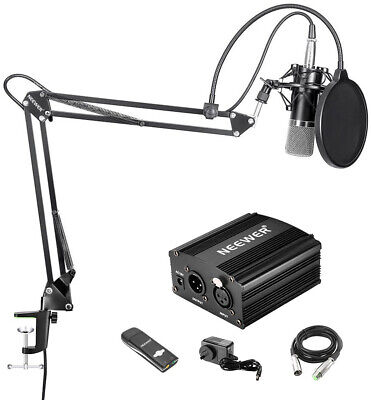 Neewer Condenser Microphone and Accessory Kit for Studio Recording - NW-700 Mic