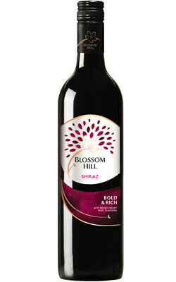Blossom Hill Shiraz 2016 South Eastern Australia 12x750ml Free Shipping
