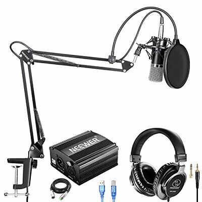 Neewer condenser microphone black NW-700 professional monitor headphone... JAPAN