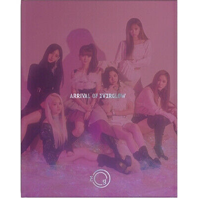 EVERGLOW ARRIVAL OF EVERGLOW Album CD+POSTER+PhotoBook+3p Card+2p Sticker SEALED