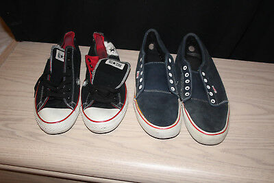 ef8647e075b LOT OF TWO Pairs Converse Shoes -  11.70