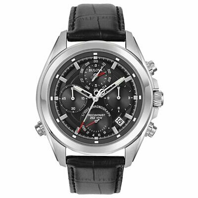 BULOVA Men Chronograph Watch Precisionist 96B259 Brand New