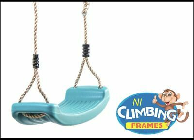 Children's Replacement TURQUOISE Swing Seat Height Adjustable Climbing Frame