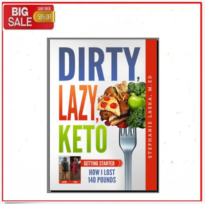 Dirty Lazy Keto Cookbook - Eb00k/PDF - FAST Delivery