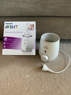 Philips Avent Bottle Warmer ~ New Model As New