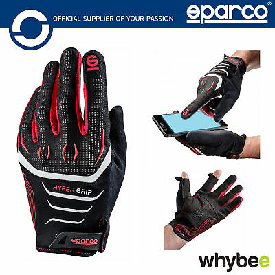 New! 002094 Sparco Hypergrip Gloves for PC / Console / Gaming / Simulater