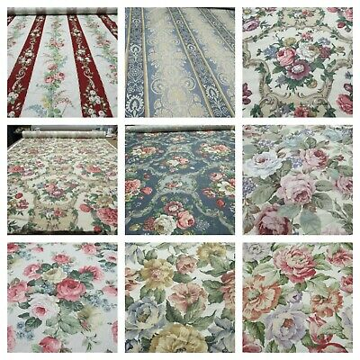 Vintage Floral Fabric by Heritage & Mintex Various Patterns By The Metre