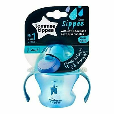 Tommee Tippee Weaning Sippee Cup BPA Free Age 4m + 150ml, Blu