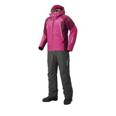SHIMANO RB-017R Basic Warm Suits GORE-TEX XL Purple Pink Fishing From Japan EMS