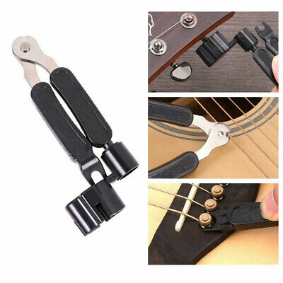 1x Guitar Winder+String Cutter+Pin Puller ABS Quickly For Guitar Banjo Mandolin