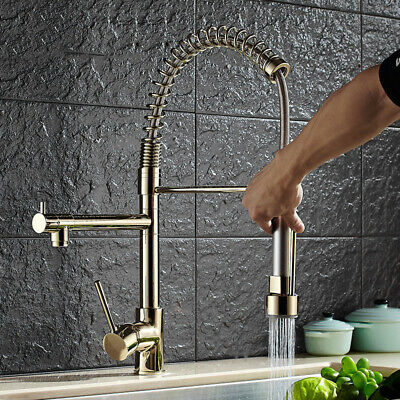 Kitchen Faucet Multi-Function Hot and Cold Sink Spring Faucet Sink Faucet
