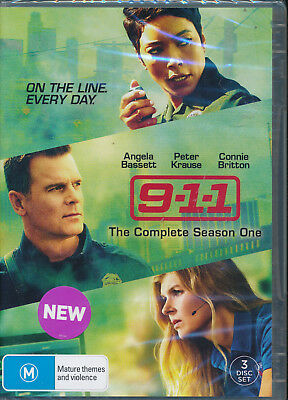 9-1-1 Complete Season 1 One First DVD NEW Region 4