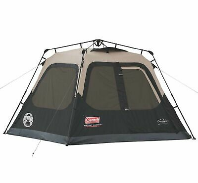 Tent Outdoor Family Camping 4 Person 8 x 7 Foot Waterproof Instant Cabin