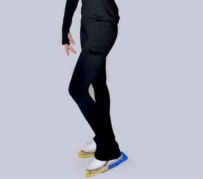 """Padded Ice Roller skating Leggings - age 9/10  24"""" waist  Removable protection"""