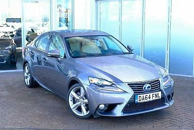 2014 Lexus IS 2.5 Premier PETROL/ELECTRIC grey CVT