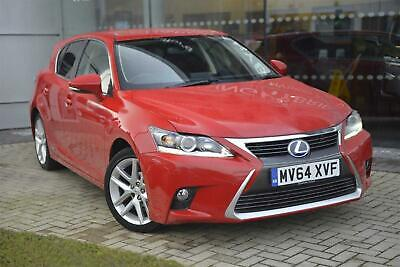 2014 Lexus CT 1.8 Advance PETROL/ELECTRIC red CVT