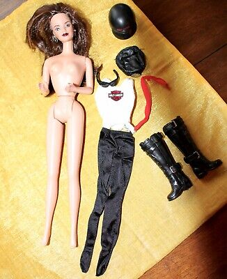 Harley Barbie and Accessories OOB Great Condition