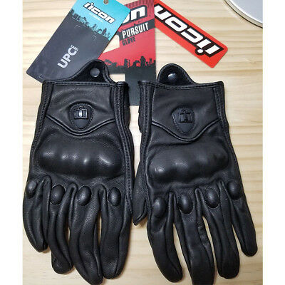 Fashion Icon Pursuit Gloves Motorcycle Street Riding Leather Men's Gloves hot