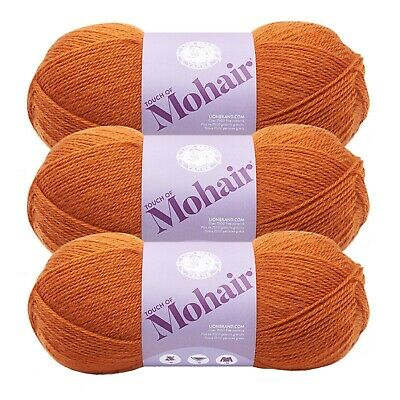 Lion Brand Yarn Touch Of Mohair-Gardenia