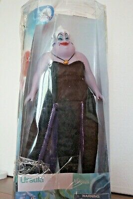 Official Disney Store Little Mermaid Ursula Classic Doll Toy 30cm