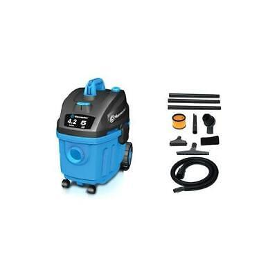 NEW Cleva VF408 Canister Vacuum Cleaner VM Wet Dry Vac HEPA 4.2Gal 5HP