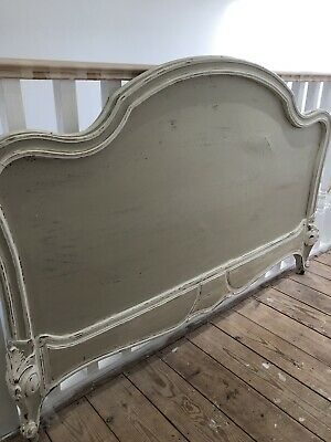 Antique French Wood 5ft Headboard
