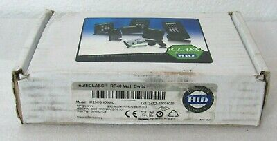 HID RP40CGNN multiCLASS Card Reader 6125CGN0000L (missing mount plate) [CTNO]