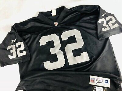 sneakers for cheap 1629a 3289e OAKLAND RAIDERS MARCUS Allen 1995 Reebok Throwback Jersey Size Mens XL