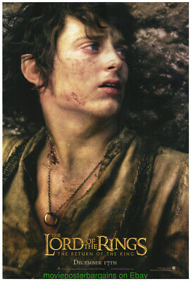 Lord Of The Rings Return Of The King Movie Poster 27x40 Ds Frodo Advance Style