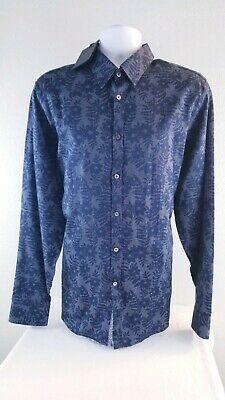 3c7e518c8 NWT Ted Baker London men's size 2XL long sleeve button down shirt floral  pattern
