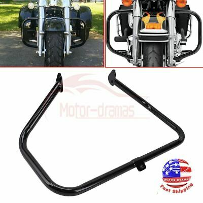 Fast Deliver Motorcycle Engine Guard Highway Crash Bar For Harley Touring Street Electra Glide Road King Flht Fltr 1997-2008 Motorcycle Accessories & Parts