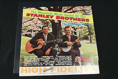 Mountain Music Sound of the Stanley Brothers LP 1962 Starday SLP 201 w/EX Vinyl!