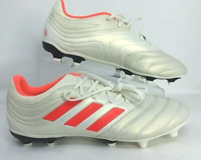 New Adidas Copa 19.3 FG Size 9 Firm Ground Soccer Cleats Shoes White BB9187 488726770