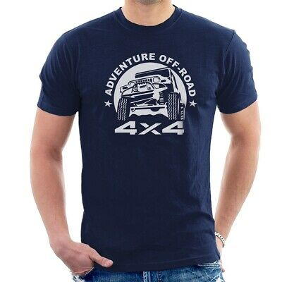 ADVENTURE OFF ROAD 4X4 T-SHIRT Toyota Land Cruiser ALL SIZES D27