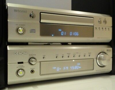 Denon DRA-F101 HiFi Component System Amplifier / Tuner and CD Player