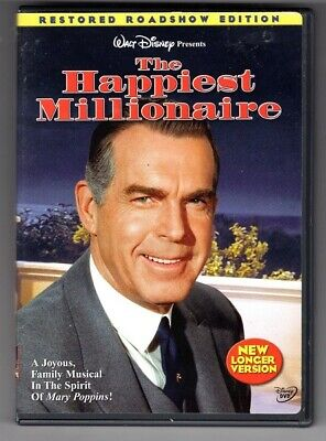 """Disney's The Happiest Millionaire"" DVD, Fred McMurray, Greer Garson."
