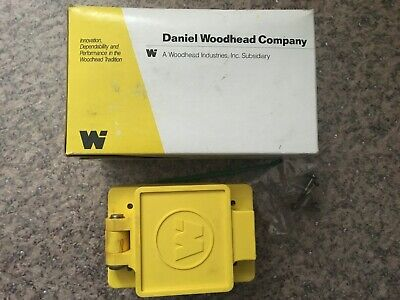 Woodhead 64W04 Watertite Flip Lid Turnex Receptacle