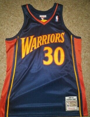 release date: c5716 7115e 100% AUTHENTIC STEPHEN Curry Mitchell Ness Warriors Home ...