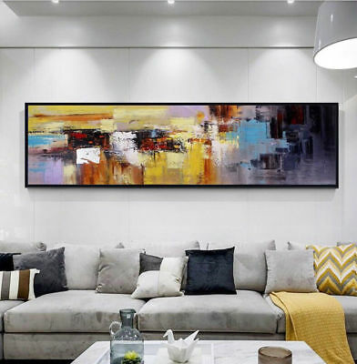 VV722 Large Hand-painted Abstract oil painting on canvas Modern Home decoration