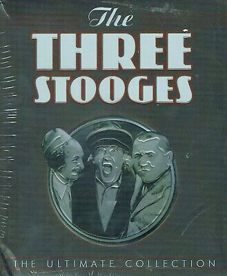 The 3 Three Stooges Complete DVD Series: Ultimate Collection 20 Disc set  New